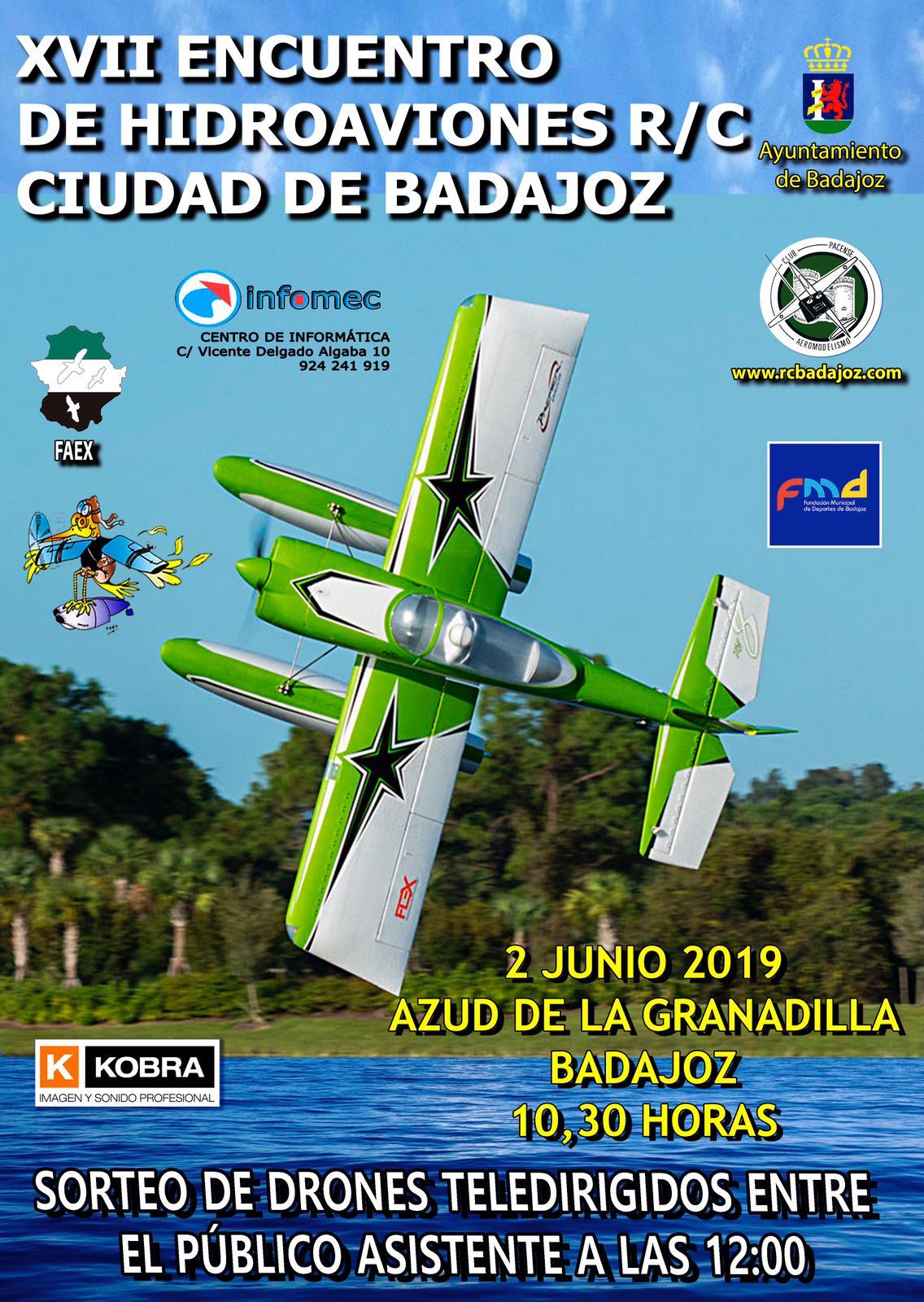 XVII ENCUENTRO HIDROAVIONES CIUDAD DE BADAJOZ