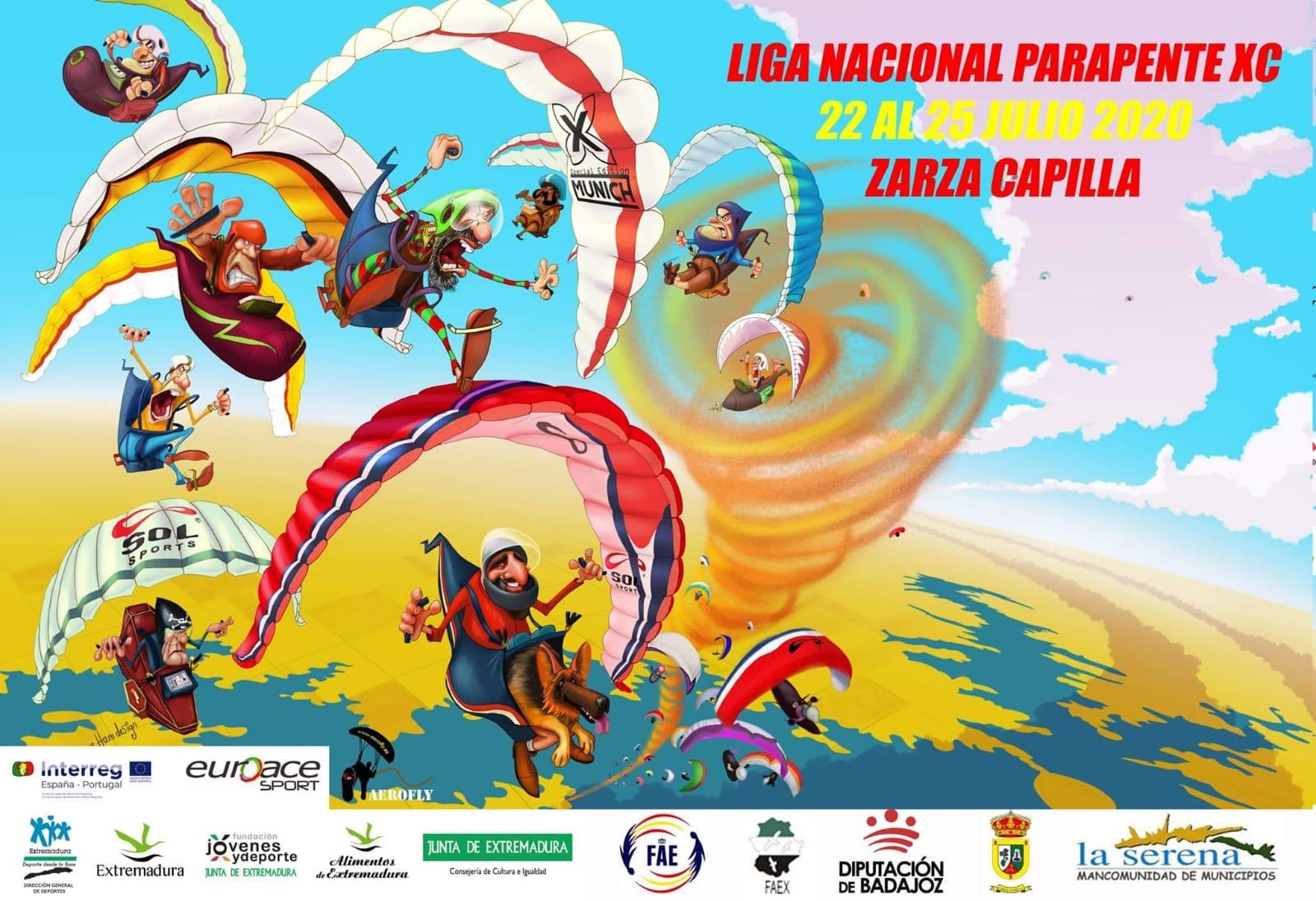 Liga Nacional XC Zarza Capilla 2020